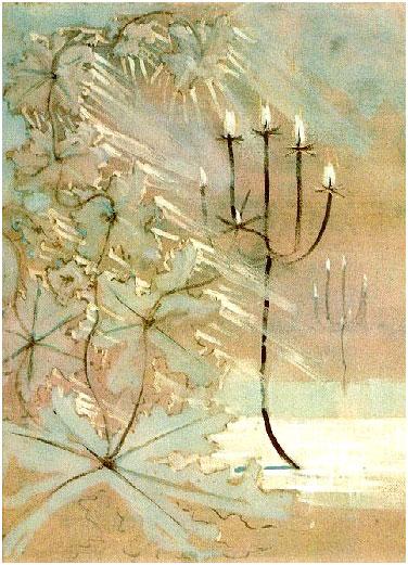 чюрленис зима